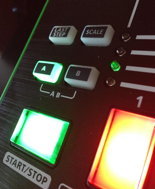 programming pattern A on TR-8