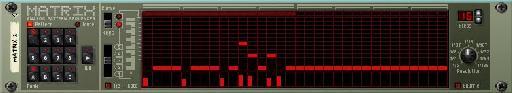 Octave 3's matrix settings