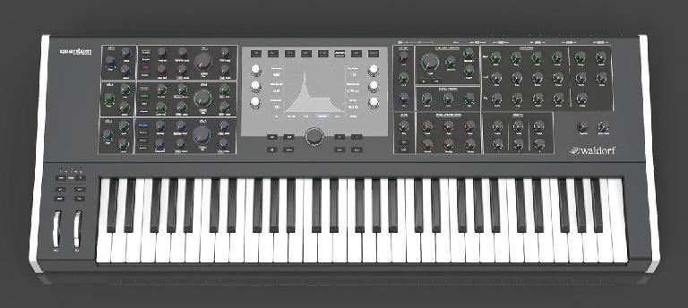Waldorf Quantum hybrid synthesizer.