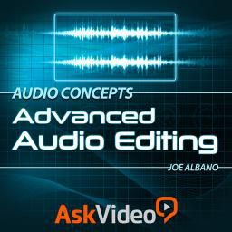 Watch the complete Audio Concepts 201: Advanced Audio Editing by Joe Albano here.