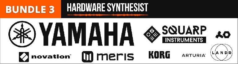 Bundle 3 - Hardware Synthesist - Yamaha, Squarp, Teenage Engineering, Novation, Merris, Korg, Arturia