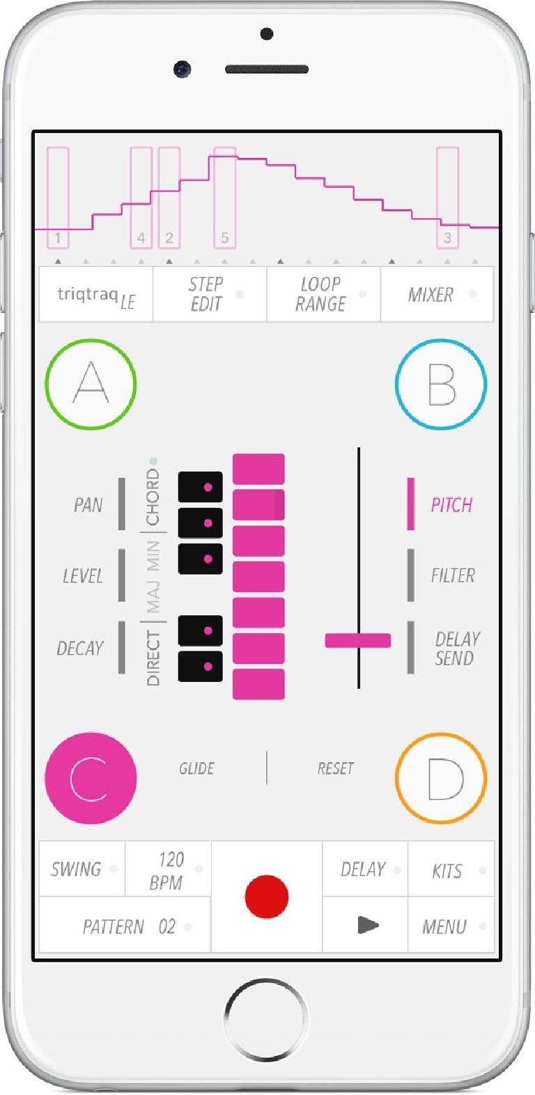 Triqtraq LE for iOS