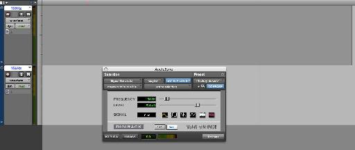 Pic. 2 – Setting Up Binaural Beat in Pro Tools.