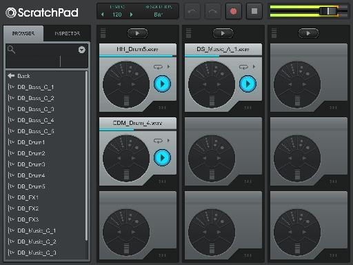 Drop loops onto pads, buy more loop packs or add your own via Dropbox sync