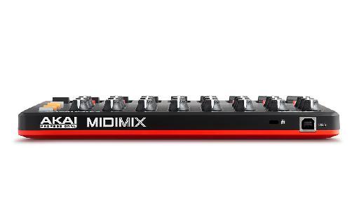 Akai Pro MIXmix rear sports a single USB port.