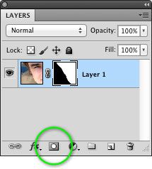 The Add Layer Mask button