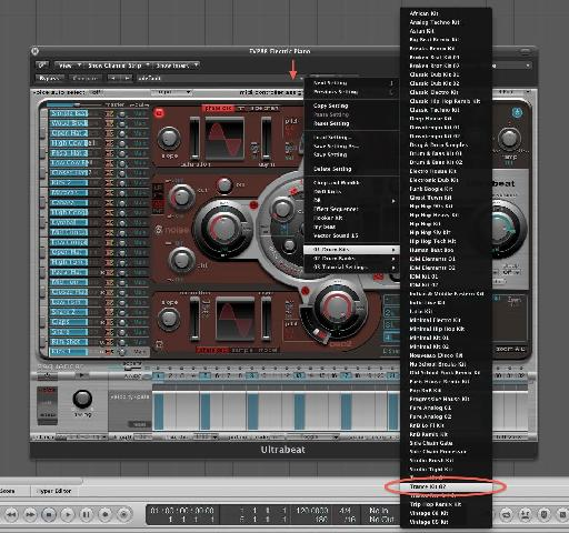 Trance Kit 02 preset.