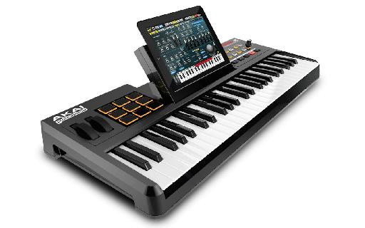 AKAI's SynthStation is a novel way to integrate an iPad into a more conventional studio