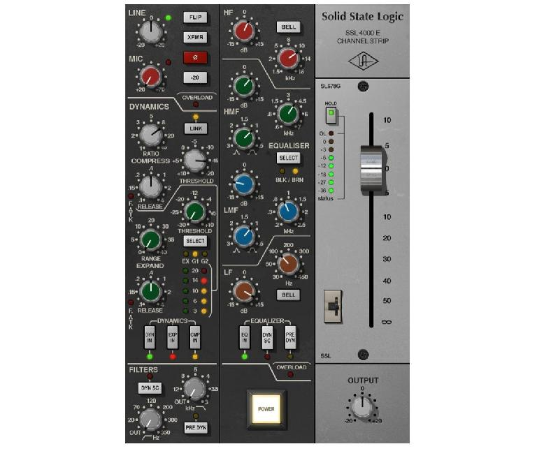 SSL 4000 E Channel Strip Collection