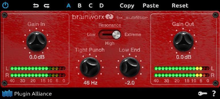 Brainworx bx_subfilter plug-in