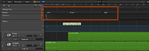 Markers are important both inside and out of Logic Pro X.  Create logical markers that will make it easy to identify sections of your song.