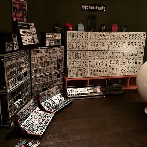 In Deadmau5's basement.