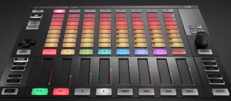 The Maschine Jam, ready to, erm, jam.