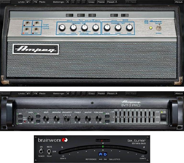 Ampeg SVT Bass Amplifier Plugin Bundle