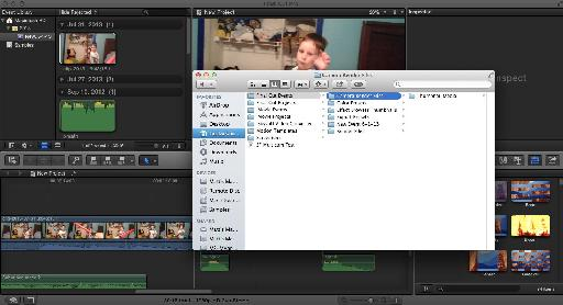 Finder Window : The render folder for video editing software is often organized with subfolders that match the names of your project media.