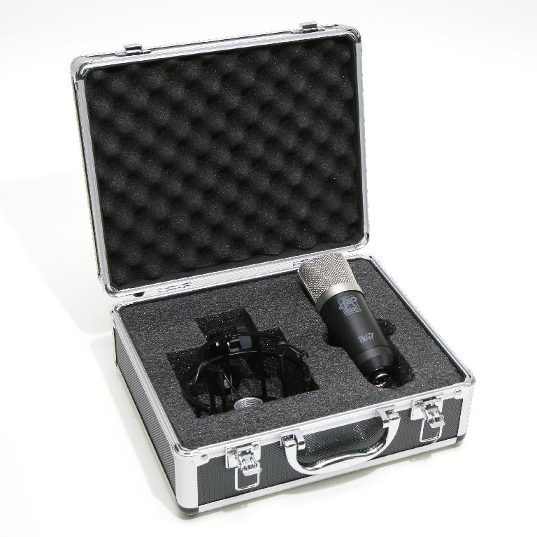 Roswell Pro Audio Mini K47 in flight case.