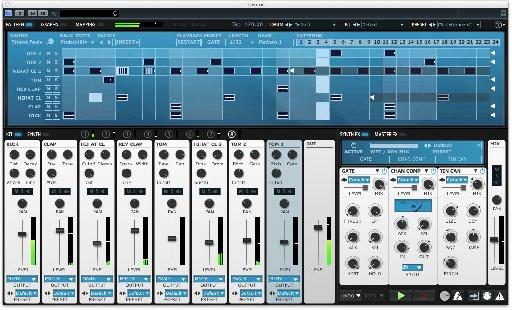 By using the different drag edit modes in the sequencer you can create variations with ease…
