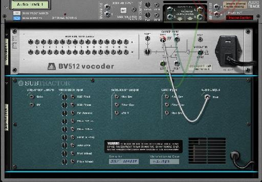 Routing the subtractor