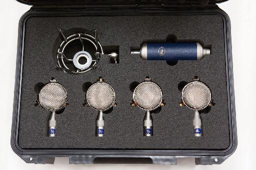 Blue Microphone's Bottle Rocket Mic Locker.