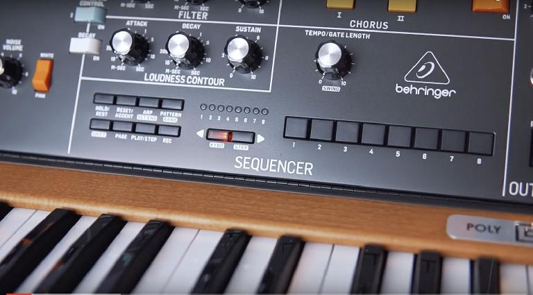 Behringer Introduces Polyphonic Minimoog Clone Poly D Macprovideo Com Where the behringer model d attracted a fair amount of controversy for being essentially a carbon copy of moog's original, the poly d moves into new territory. behringer introduces polyphonic