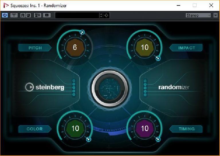 Nuendo 8: The new randomiser.