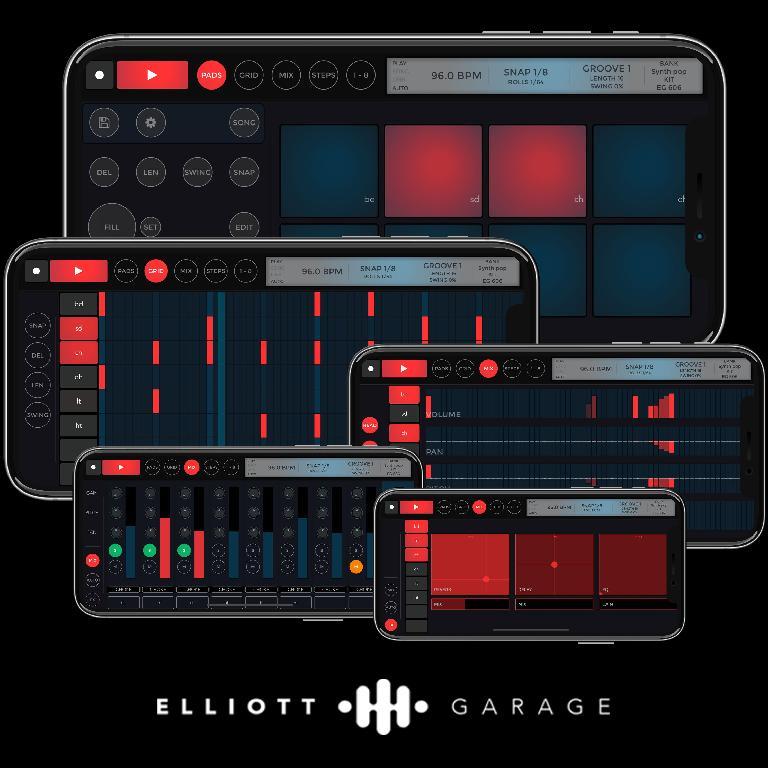 EG Pulse Drummer for iPhone