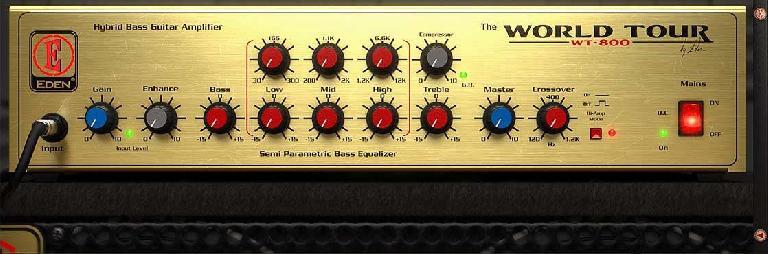 Eden® WT800 Bass Amplifier — $149