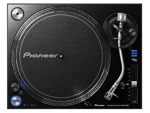 Top view of the Pioneer PLX-1000.