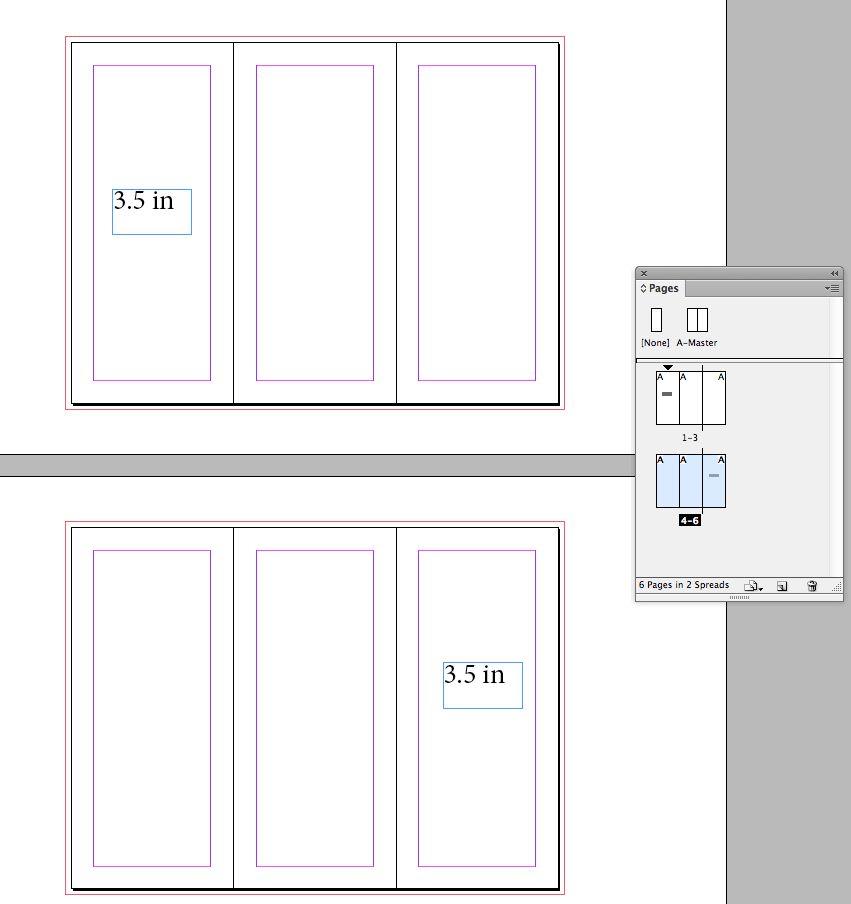 Misure Depliant 3 Ante.Progettare Una Brochure A Tre Ante In Indesign E Photoshop Parte