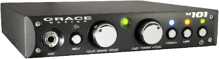 Fig 5 The Grace M-101 preamp