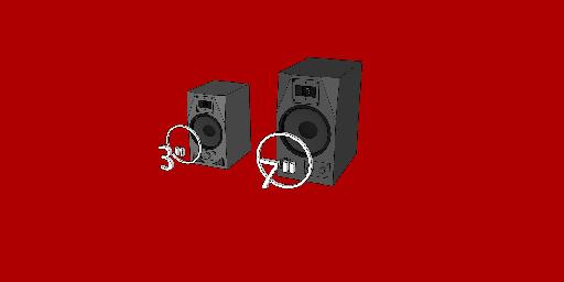 "Fig 2: ""Small speakers"" in this article refer to any monitor with a cone 7"" and smaller."