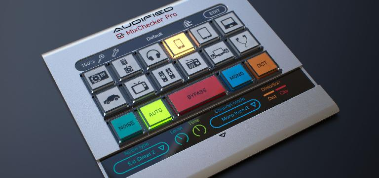 Audified MixChecker Pro GUI 2
