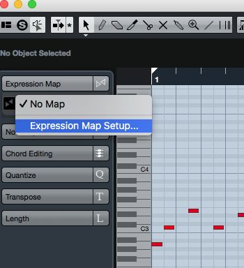 Expression Map Setup
