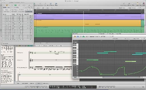 MIDI Editors in Logic 9