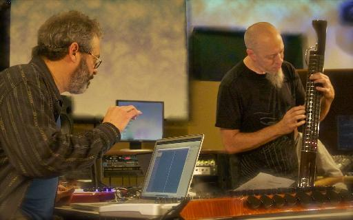 SteveH and Jordan Rudess exploring musical boundaries live