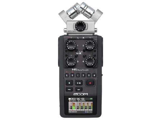 Recorders like the Zoom H6 are very flexible: this model has switchable mic modules.