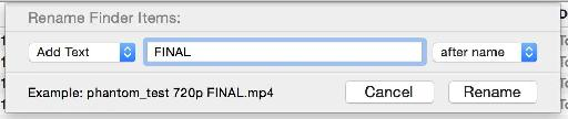 "In this example, I've added "" FINAL"" to the end of the file name, because I like to tempt fate."