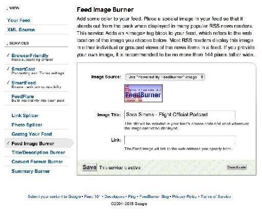 feed image burner