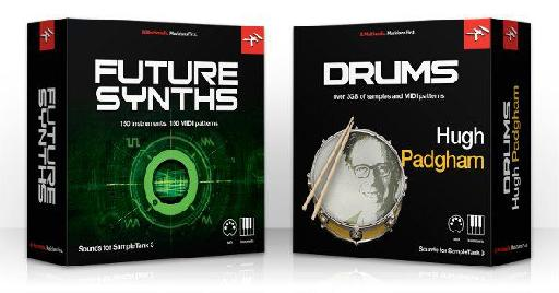 Future Synths and Hugh Padgham Drums for SampleTank 3