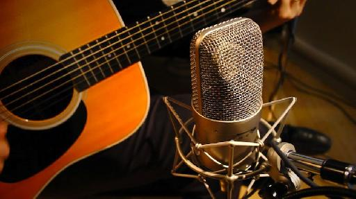 Ben Arthur recording guitar @ Dubway Studios.