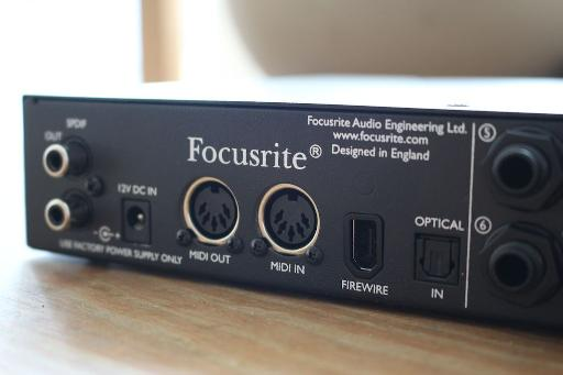 For features including SPDIF, ADAT and MIDI as well as the quality and number of ins and outs, you'd expect the Saffire to cost much more than it does.